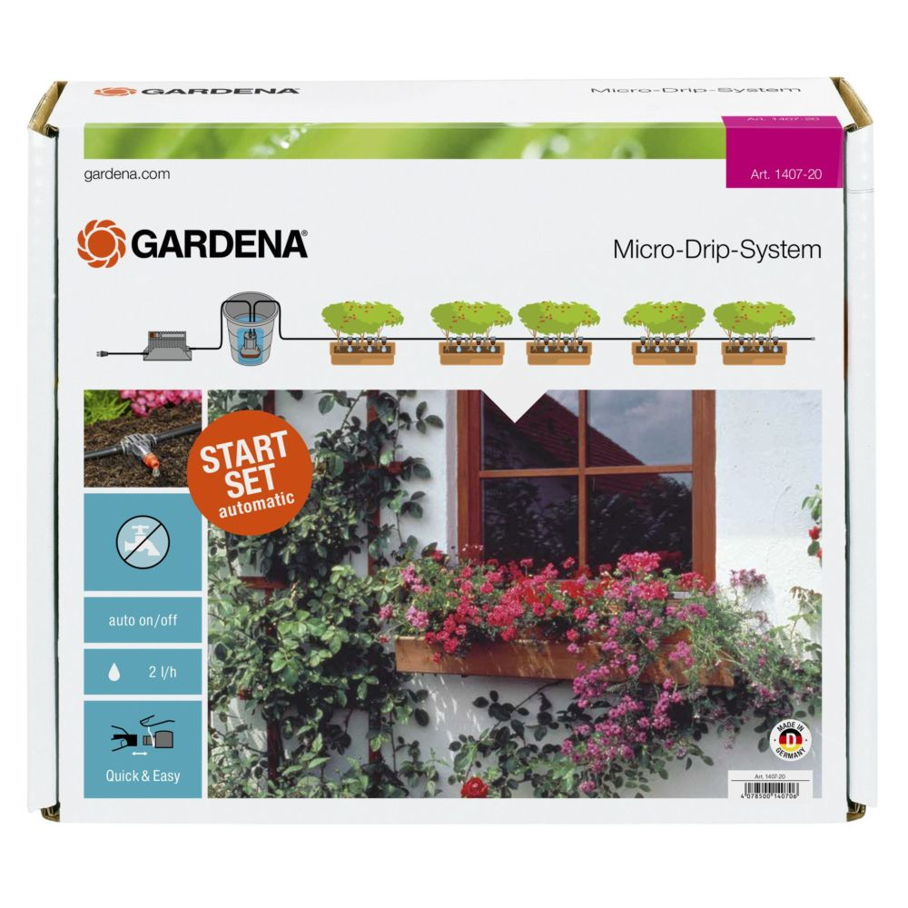 arrosage automatique balcon gardena