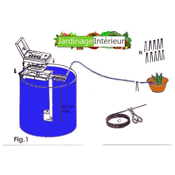 arrosage automatique sans arrivee d'eau