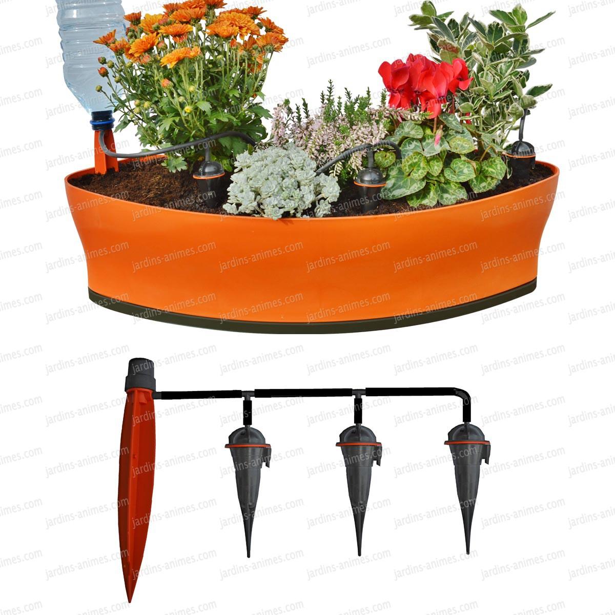 arrosage goutte a goutte jardiniere