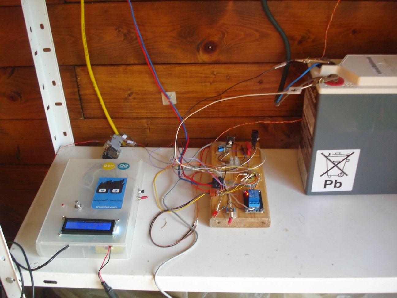pompe arrosage arduino
