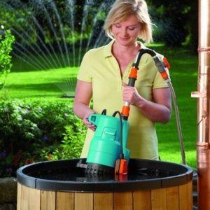 pompe arrosage eau de pluie