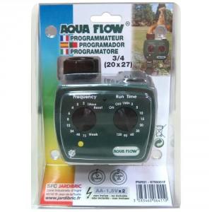 programmateur arrosage aqua flow 4 voies
