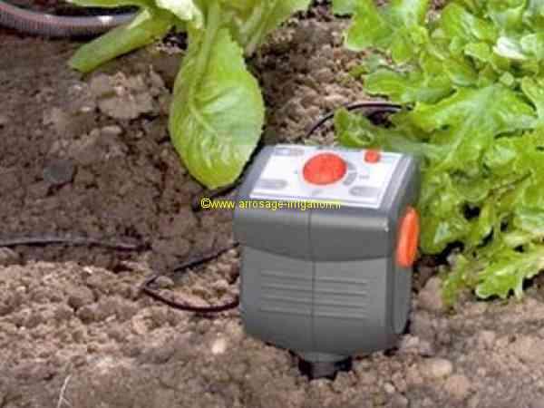 programmateur arrosage sonde humidite